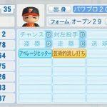 妄想パワプロオリジナル選手2 「天性のバットコントロール」